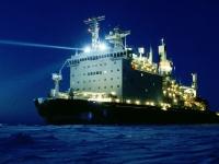 Ledoborec Tajmyr, jeden z členů doprovodu na Severní mořské cestě