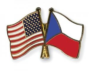 jaderná energie - Česko a USA údajně chystají dohodu o vzájemné spolupráci v oblasti jaderného know-how - V Česku (Flag Pins USA Czech Republic) 1