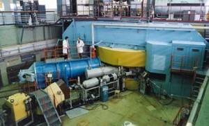 Reaktor ve Spojeném ústavu jaderných výzkumů v Dubně u Moskvy