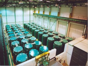 Sklad vyhořelého jaderného paliva JE Temelín