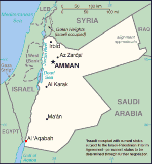 Jordánsko obvinilo Izrael z maření jeho jaderného programu