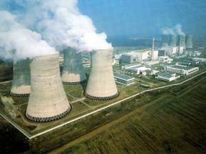 Jaderná elektrárna Dukovany. Nyní začíná částečná odstávka, během níž proběhne ladění bloku na vyšší výkon a údržba.