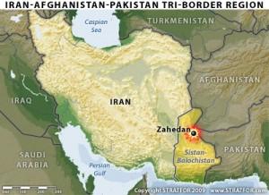 Balúčistán, oblast, kde Džindalláh vznikl a kde také podnikl několik útoků proti íránským vojákům a civilistům. Při útocích zemřely stovky lidí.