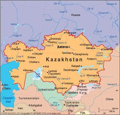Kazachstán vykračuje na jadernou cestu s podporou Velké Británie a východoasijských zemí