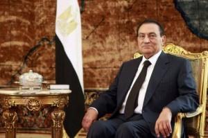 Hosni Mubarak, současný egyptský prezident. Právě ten prosazuje jadernou cestu, která byla i součástí jeho předvolební kampaně.