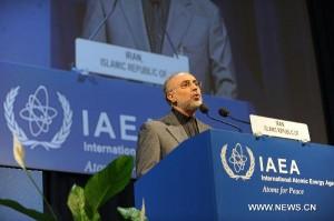 """Alí Akbar Sálehí, šéf íránské jaderné agentury. Již brzy nás zřejmě čeká další kolo jednání na téma """"obohacovat či neobohacovat""""."""