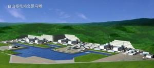 Počítačový model jaderné elektrárny Taishan. Číňanům, podobně jako Indům, se podařilo dosáhnout výrazného snížení ceny prostřednictvím zapojení místních firem.