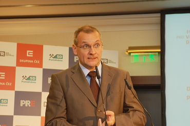 Václav Bartuška v čele české delegace navštívil hlavní projektanty ruského Atomstrojexportu.