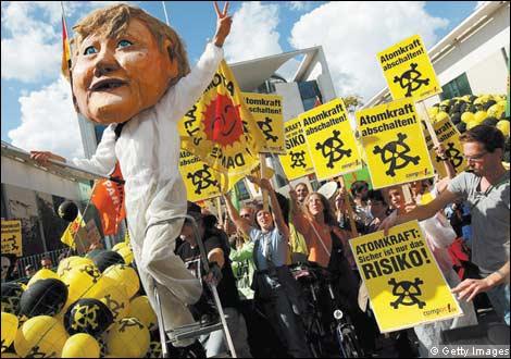 Horní komora německého parlamentu schválila zákon o prodloužení provozní doby jaderných elektráren