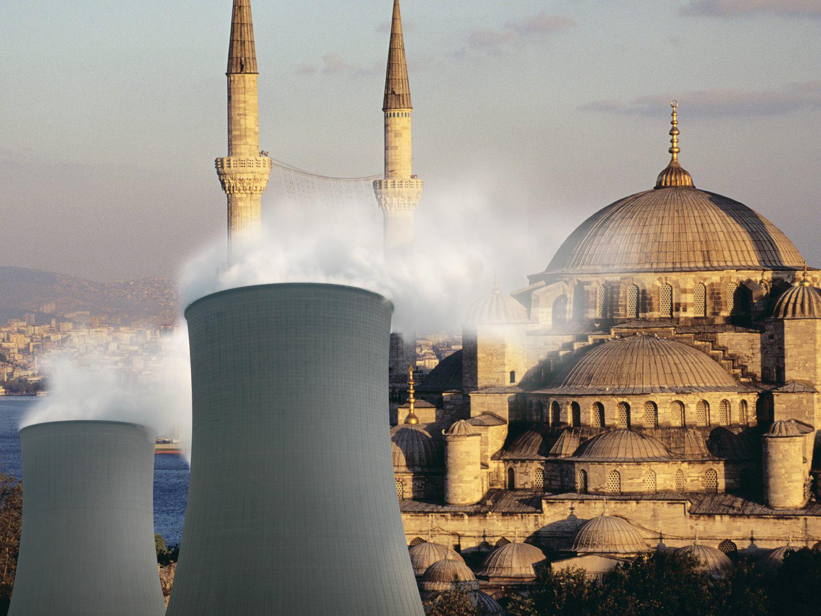 První turecká jaderná elektrárna se stává realitou