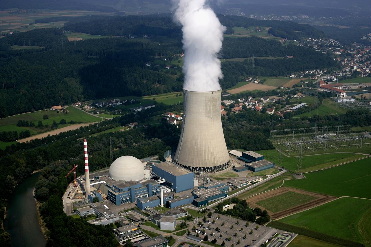 Švýcaři hlasovali pro jadernou energetiku