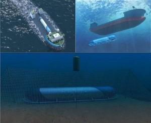 jaderná energie - Francie chce stavět podmořské jaderné elektrárny - Jádro na moři (podvodnaya aes) 1