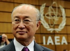 Jukija Amano, současný a znovuzvolený šéf MAAE.