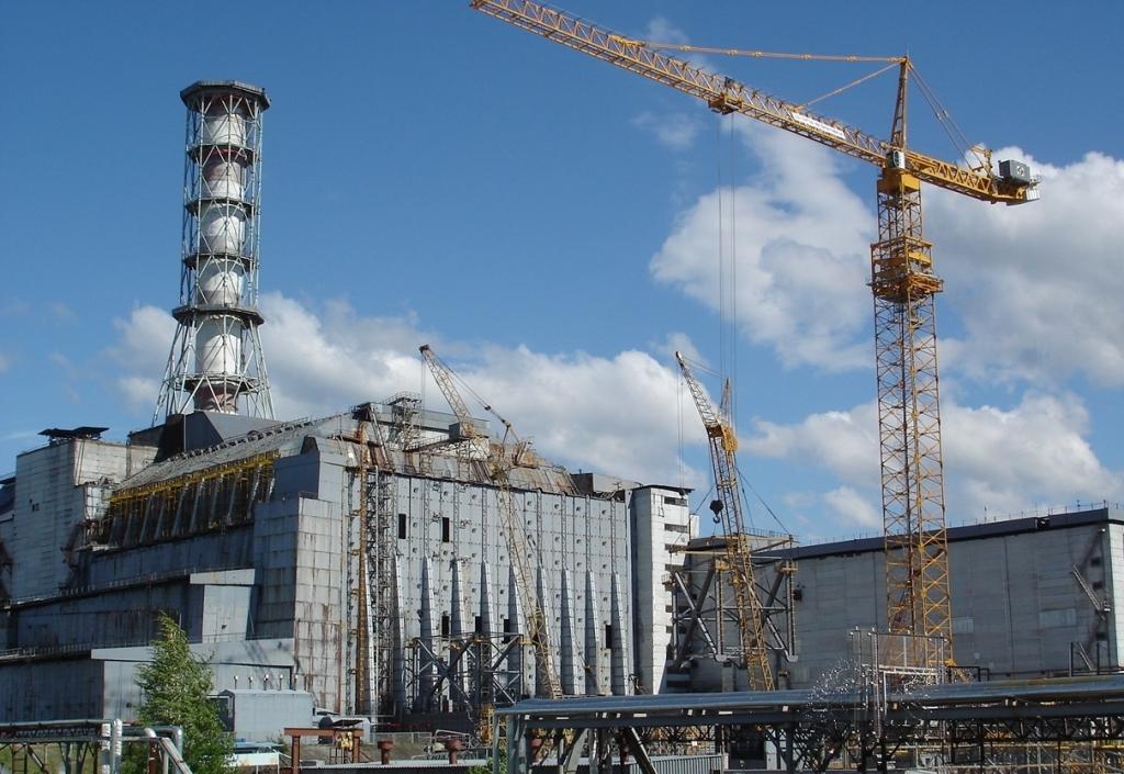 Projekt nového sarkofágu pro Černobylskou jadernou elektrárnu je téměř hotov