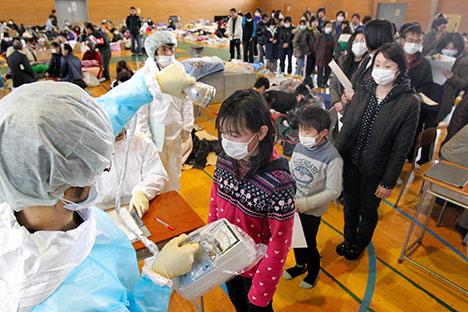 Ochranná schránka třetího bloku JE Fukušima Dajiči je porušena