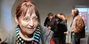 Francoise Laribbeová po propuštění, foto L'Independant.