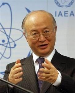 """jaderná energie - MAAE vyslalo do Japonska experty pro """"terénní výzkum"""" stavu JE Fukušima - JE Fukušima (amano1) 1"""