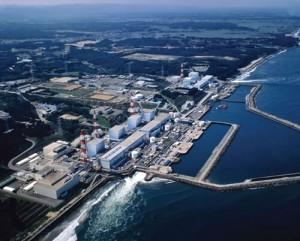 jaderná energie - Z Fukušimy už bylo vypuštěno do Tichého oceánu na 500 tun radioaktivní vody - JE Fukušima (fukushima pohled hodne seshora) 1