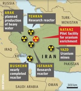 jaderná energie - Írán hodlá postavit 4 až 5 výzkumných reaktorů a vyrábět pro ně palivo s 20% obohacením - Ve světě (iran jaderne objekty) 1