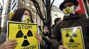 jaderná energie - Japonsko - aktuální zprávy - JE Fukušima (nuclear protest tokyo) 1