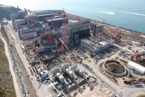 jaderná energie - Francouzům se daří stavět první blok s EPR rychleji v Číně, než doma - Nové bloky ve světě (flamanville 3) 1