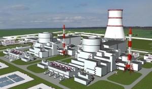 Maketa budoucí Baltské jaderné elektrárny. Nyní doznává určitých změn - možná bude trochu menší.