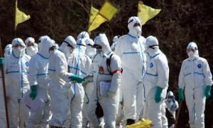 jaderná energie - TEPCO uvedla dávky, které dostali dva zatím nejvíc ozáření likvidátoři fukušimské havárie - JE Fukušima (tepco v oblecich) 1
