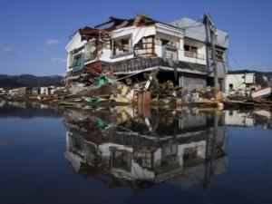 jaderná energie - Stavitelé Fukušimy pro usnadnění dopravy odstranili útes, který přirozeně chránil její území před vlnami - JE Fukušima (fukusima po cunami) 1