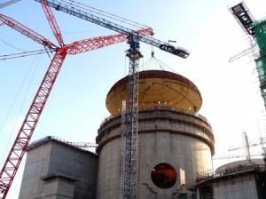 Jaderná elektrárna Ning-te (pin. Ningde) v provincii Fu-ťien (Fujian), jeden z čerstvých přírůstků do velké rodiny elektráren s CPR-1000.