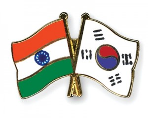 jaderná energie - Jižní Korea podepsala s Indií dohodu o jaderné spolupráci - Ve světě (vlajka indie jkorea) 1