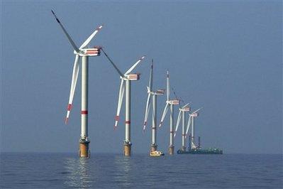 Švýcarská ABB za miliardu dolarů napojí větrné farmy na Německo