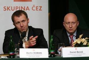 jaderná energie - Martin Roman odchází z čela ČEZu - V Česku (benes roman) 1
