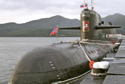 Ruská jaderná ponorka se srazila s rybářskou lodí