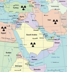jaderná energie - Saúdská vláda netroškaří – má v plánu 16 nových jaderných reaktorů do roku 2030 - Nové bloky ve světě (jadro blizky vychod) 1