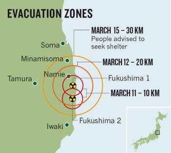 Japonci zrušili pásmo evakuační pohotovosti mezi 20 až 30 kilometry okolo JE Fukušima