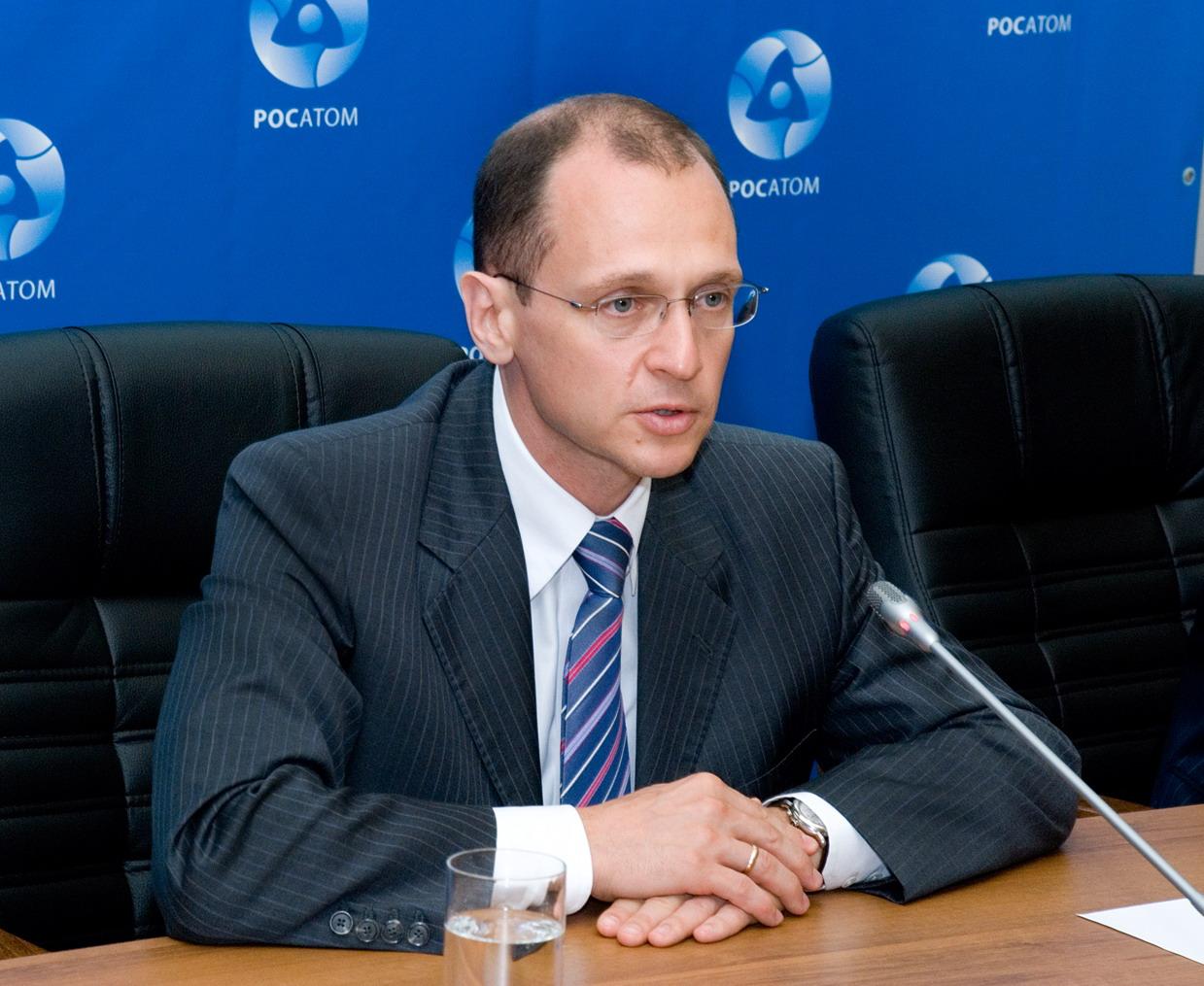 Šéf Rosatomu Sergej Kirijenko přijede do Prahy