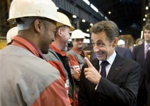 jaderná energie - Dohoda francouzské levice o omezení jádra vyvolala v zemi bouřlivou debatu - Ve světě (sarkozy delnici elektrarna) 1