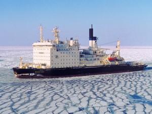 jaderná energie - Při požáru na atomovém ledoborci Vajgač zemřeli dva lidé - Jádro na moři (vaigach) 1