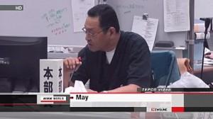 jaderná energie - Ředitel JE Fukušima byl hospitalizován s rakovinou jícnu - JE Fukušima (yoshida omluva) 1