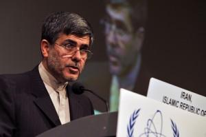 Šéf íránského atomového průmyslu Ferejdún Abbásí Davání.