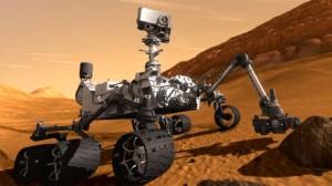 Curiosity, nahlížená okem umělce. Zdroj: Foxnews.com