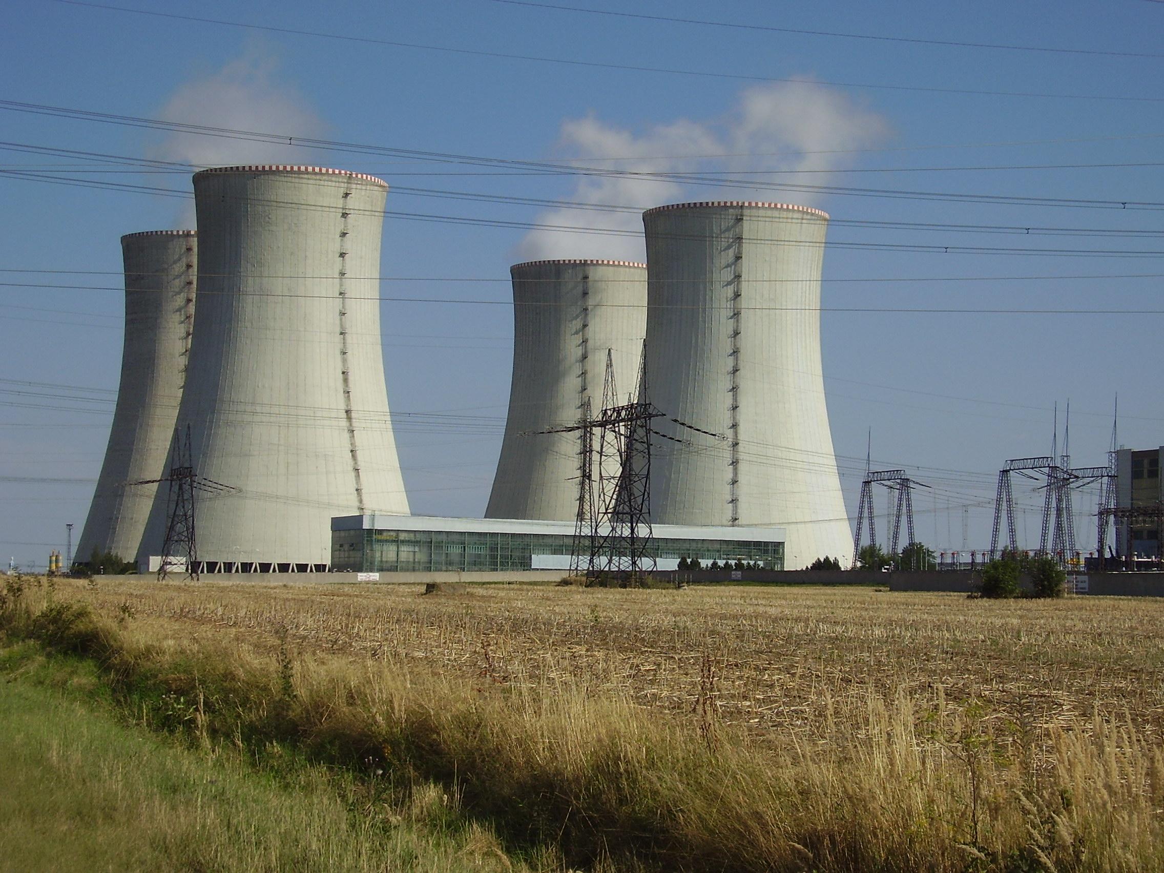 Jihomoravský kraj chce další rozvoj jaderné elektrárny Dukovany