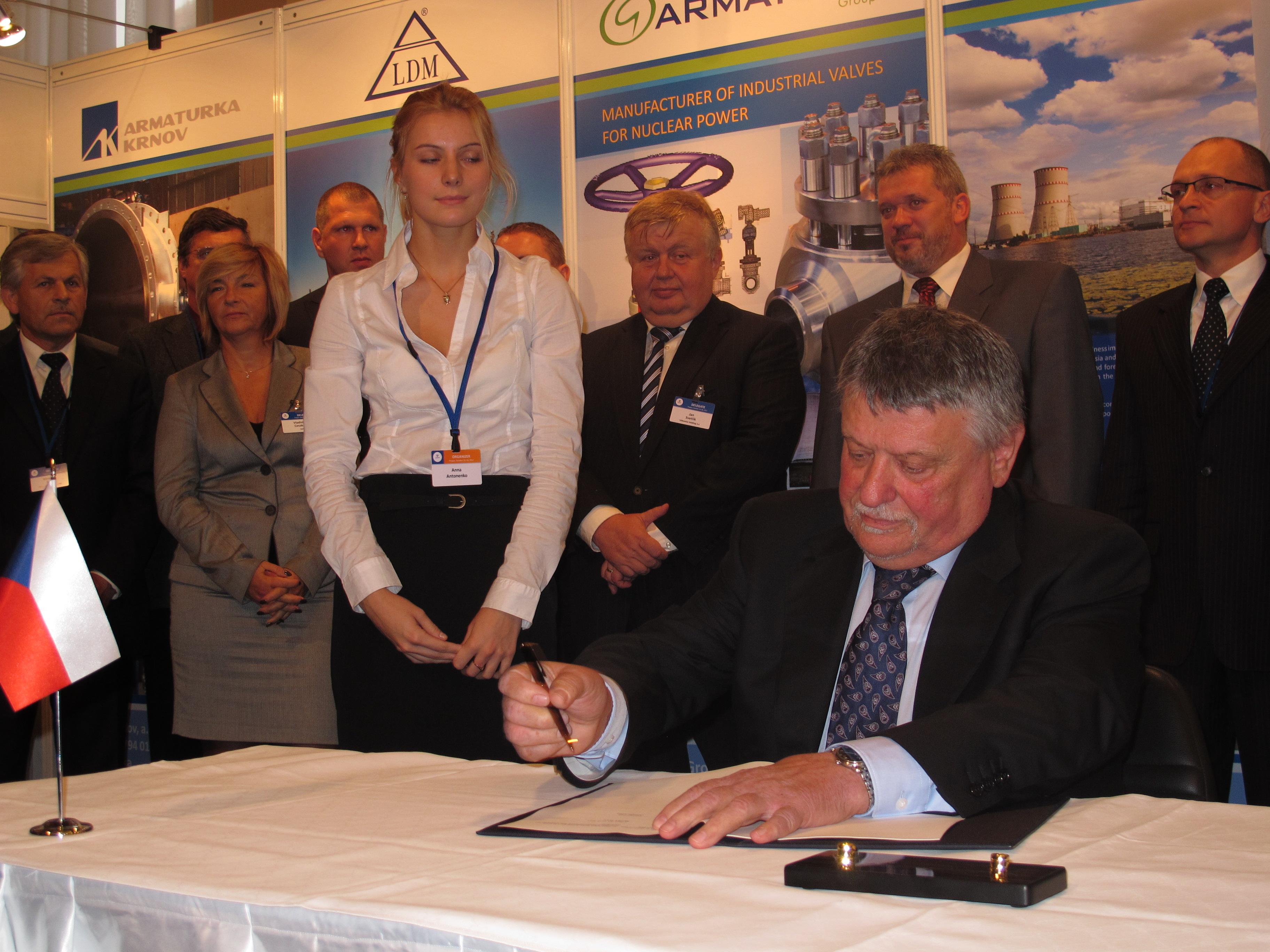 Do boje o Temelín vložilo konsorcium MIR.1200 stovky milionů korun – Miroslav Fiala, ředitel Škody JS
