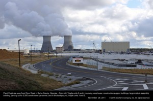 jaderná energie - Stavba elektrárny Vogtle s reaktory AP-1000 - Nové bloky ve světě (vogtle 1) 1