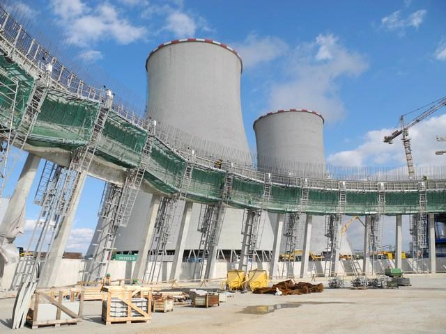 Stavba první plynové elektrárny ČEZ je v polovině