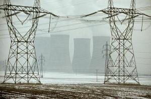 Rozvodná síť u Dukovan, zdroj: Greenpeace.org