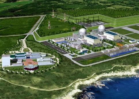 Jižní Korea začala stavět dva reaktory podle domácího návrhu