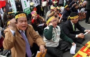 jaderná energie - Tchajwan postupně vyřadí všechny jaderné elektrárny - Back-end (taiwan nuclear protest) 1