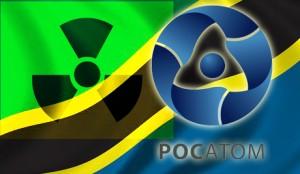 Jaderný obr Rosatom sílí na východních trzích. Na fotografii je v pozadí vlajka Tanzánie - v roce 2011 koupil ruský kolos australskou těžební firmu Mantra Resources, která vlastní ložiska v Africe. Zdroj: Atomic-energy.ru