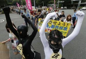 jaderná energie - V Tokiu se konala další demonstrace proti jaderné energii - JE Fukušima (japprotesty) 1